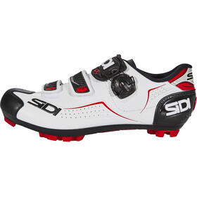 Sidi Trace Shoes Herre white/black/red